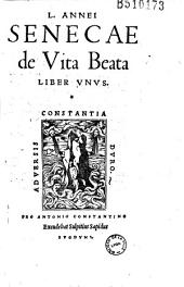 L. Annei Senecae de Vita Beata liber unus (Praef. Sapidi)