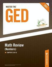 Master the GED: Math Review--Numbers: Chapter 12 of 16, Edition 25