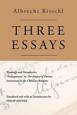 Three Essays