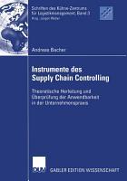 Instrumente des Supply Chain Controlling PDF