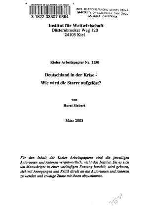 Deutschland in der Krise PDF