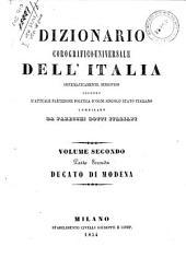Dizionario corografico-universale dell'Italia: 2.2: Dizionario corografico del Ducato di Modena