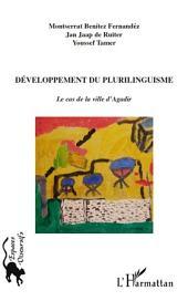 Développement du plurilinguisme: Le cas de la ville d'Agadir