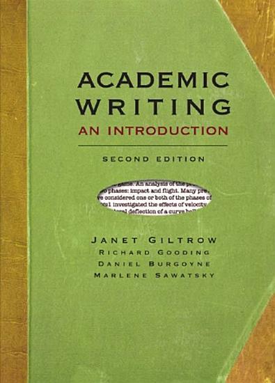 Academic Writing  second edition PDF