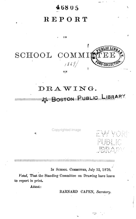 Report of the Committee on Drawing PDF