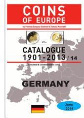 Coins of GERMANY 1901-2014: Coins of Europe Catalog 1901-2014