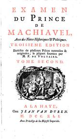 Examen du Prince de Machiavel: Volume2