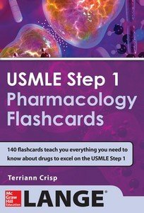USMLE Pharmacology Review Flash Cards Book