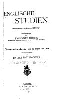 Englische studien PDF