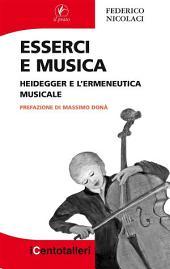 Esserci e musica: Heidegger e l'ermeneutica musicale