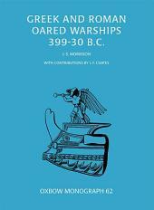 Greek and Roman Oared Warships 399-30BC