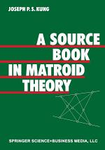 A Source Book in Matroid Theory