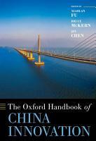 The Oxford Handbook of China Innovation PDF