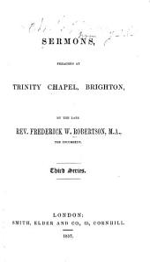 Sermons, Preached at Trinity Chapel, Brighton: Third series