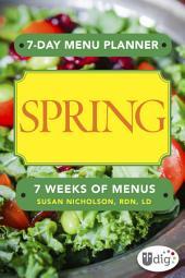7-Day Menu Planner: Spring
