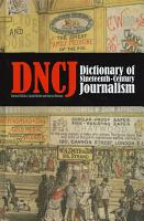 Dictionary of Nineteenth century Journalism in Great Britain and Ireland PDF