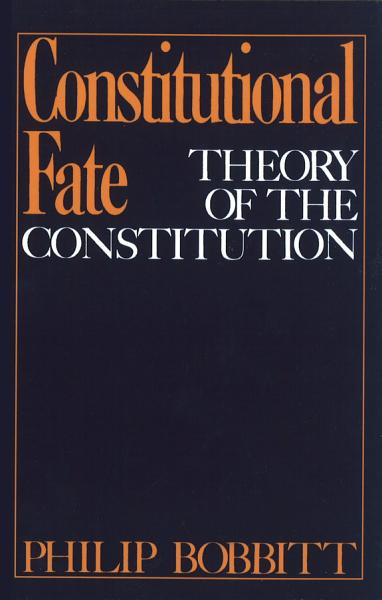 Download Constitutional Fate Book