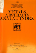 Metals Abstracts Index PDF