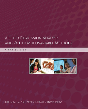 Applied Regression Analysis and Other Multivariable Methods PDF