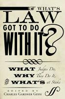 What s Law Got to Do With It  PDF