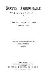 Noctes Ambrosianæ