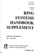 Ring Systems Handbook PDF