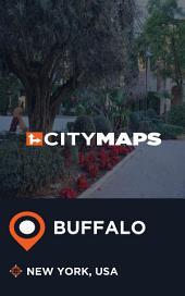 City Maps Buffalo New York, USA