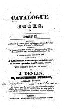 A Catalogue of Books, for 1826. ...