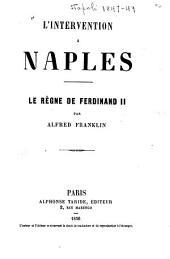 L'intervention à Naples: le règne de Ferdinand II