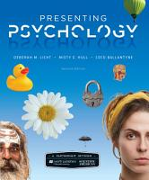 Scientific American  Presenting Psychology PDF