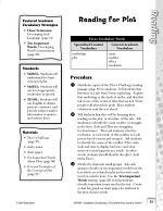 Academic Vocabulary Level 4--Reading for Plot