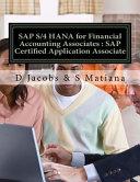 Sap S 4 Hana for Financial Accounting Associates PDF