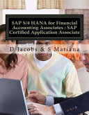 Sap S 4 Hana for Financial Accounting Associates PDF