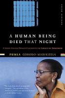 A Human Being Died that Night PDF