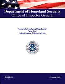 Removals Involving Illegal Alien Parents Of United States Citizens