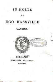 In morte di Ugo Bassville cantica