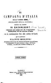 La campagna d'Italia dell'anno 1859: cronache della guerra, Volume 3