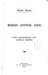 Modern Scottish Poets PDF