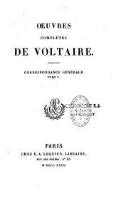 Oeuvres complètes de Voltaire: Volume54