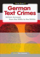 German Text Crimes PDF
