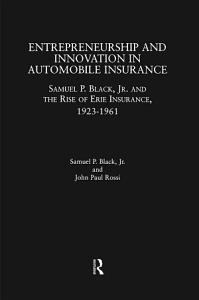Entrepreneurship and Innovation in Automobile Insurance PDF