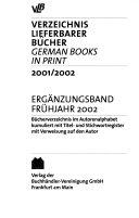 German books in print PDF