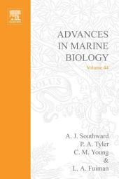 Advances in Marine Biology: Volume 44