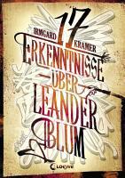 17 Erkenntnisse   ber Leander Blum PDF