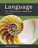 Language  Its Structure and Use PDF