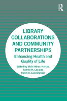 Library Collaborations and Community Partnerships PDF