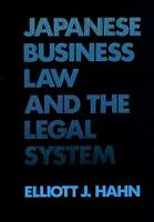 Japanese Business Law and the Legal System PDF