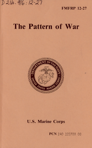 The Pattern of War PDF