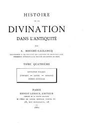 Histoire de la divination dans l'antiquité: Divination italique (étrusque