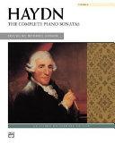Haydn    The Complete Piano Sonatas PDF